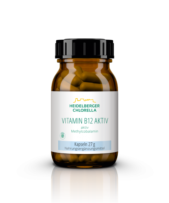 Vitamin B12 aktiv als Methylcobalamin Kapseln