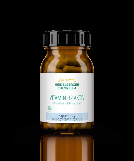 Vitamin B2 aktiv als Riboflavin-5-Phosphat Kapseln