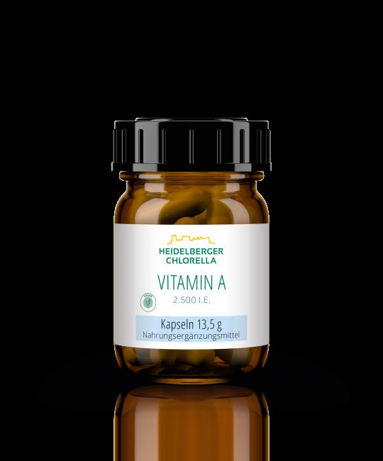 Vitamin A 2.500 I.E. Kapseln